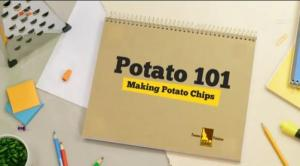 Making Potato Chips