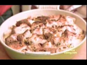 Italian Panettone Bread Pudding