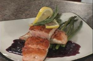 Wine Country Glazed Salmon