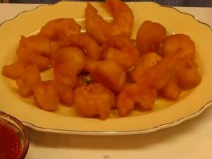 Delectable Deep-Fried Shrimp