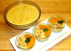 Peach And Rice Phirni