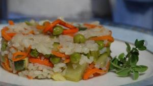 Jasmine Rice and Vegetable Medley