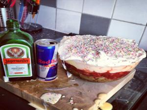 Jager Bomb Trifle