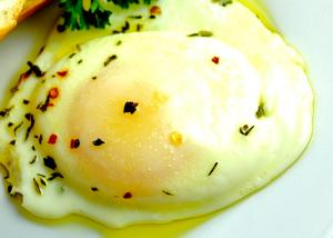 Restaurant Style Poached eggs