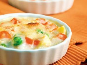 Low Calorie Vegetable Augratin