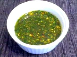 Italian Almond And Parsley Salsa Verde