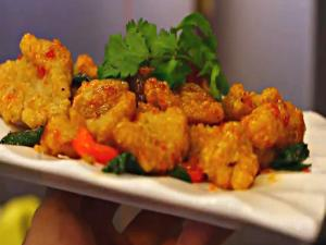 Vietnamese Muc Rang Muoi - Salt Toasted Squid