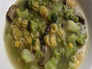 Anything Goes Veg Pasta Soup
