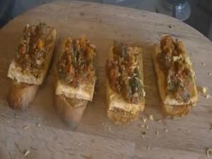 Tofu Bruschetta - MYVIRGINKITCHEN