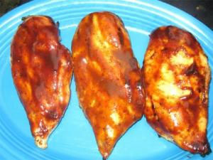 Zesty Orange Barbecued Chicken Wings