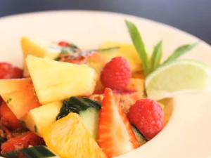 Pineapple And Cucumber Salad