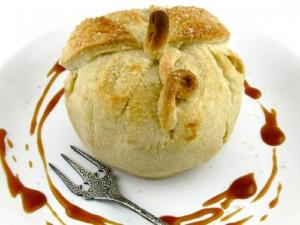 Apple Dumplings With Ginger Crust