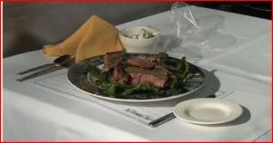 Steak and Arugula Salad
