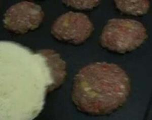 One Dozen Mini Pepper Burgers