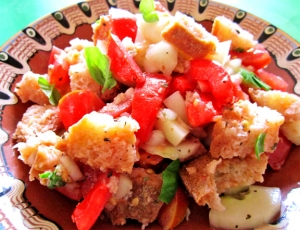 Italian Bread Salad Panzanella