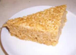 Unusual Rice Bubble Cake