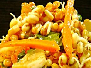 Matki Salad - Healthy