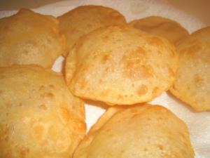 Crispy Flour Battoora