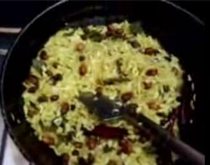 Chewda ( chuduva, a snack ) Making Made Easier