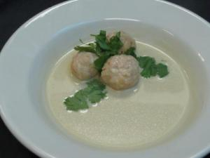 Spicy Beef Balls In Milk Gravy