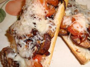 Crusty French Bread Pizza