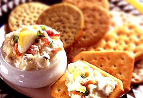 Zesty Vegetable Egg Spread