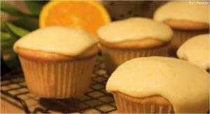 Fresh Orange Cupcakes: Cupcake Show #6