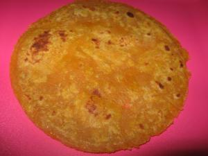 Healthy Multigrain Carrot Chapati