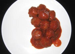 Veal Meatballs In Spicy Sauce