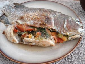 Plank Road Stuffed Tilapia