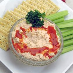 Budweiser Buffalo Chicken Dip