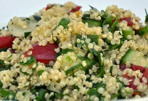 Healthy Quinoa Tabbouleh