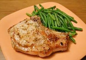 Healthy Braised Pork Loin Chops