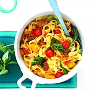 Quick And Easy Pasta Toss