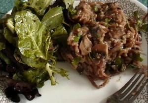 Italian Mushroom Risotto