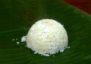 Traditional Kerala Kappa Puttu