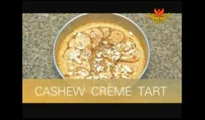 Cashew Crème Pear Tart