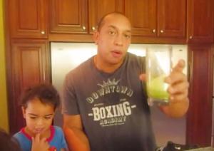 Raw And Vegan Green Vanilla  Smoothie