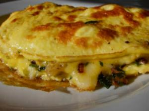 Mediterranean Vegetable Omelet