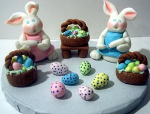 Fondant cake ideas for Easter