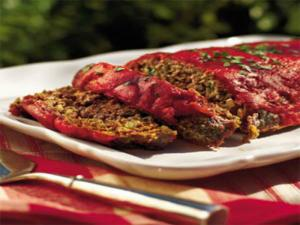 Easy Meatloaf with Medeterenian Twist