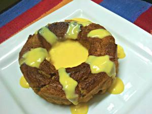 Caramelized Banana Bundt Cake