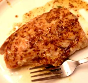Mustard Glazed Salmon