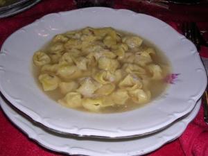 Stuffed Pasta with Gorgonzola Cream Sauce
