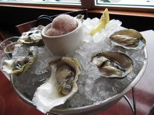 Kumamoto Oysters with Pineapple Vinegar
