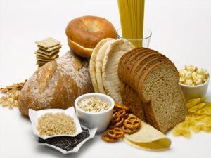 gluten rich food