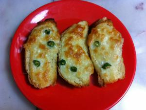 Chili Cheese Garlic Bread