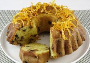 Carob Orange Cake