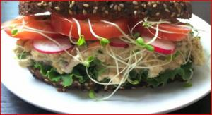 Vegan Tuna Fish Sandwich