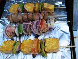 Indian Vegetable Barbeque